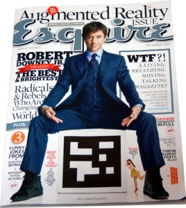 Esquire Cover - Augmented Reality Special
